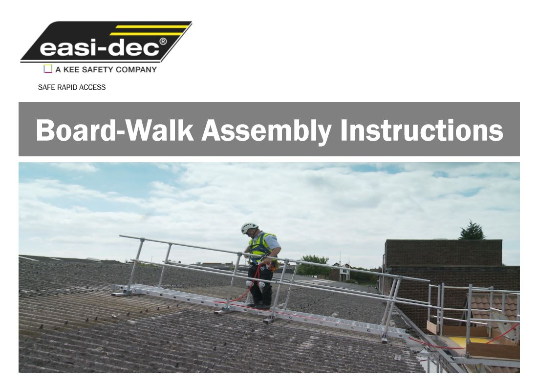 Board Walk brochure cover