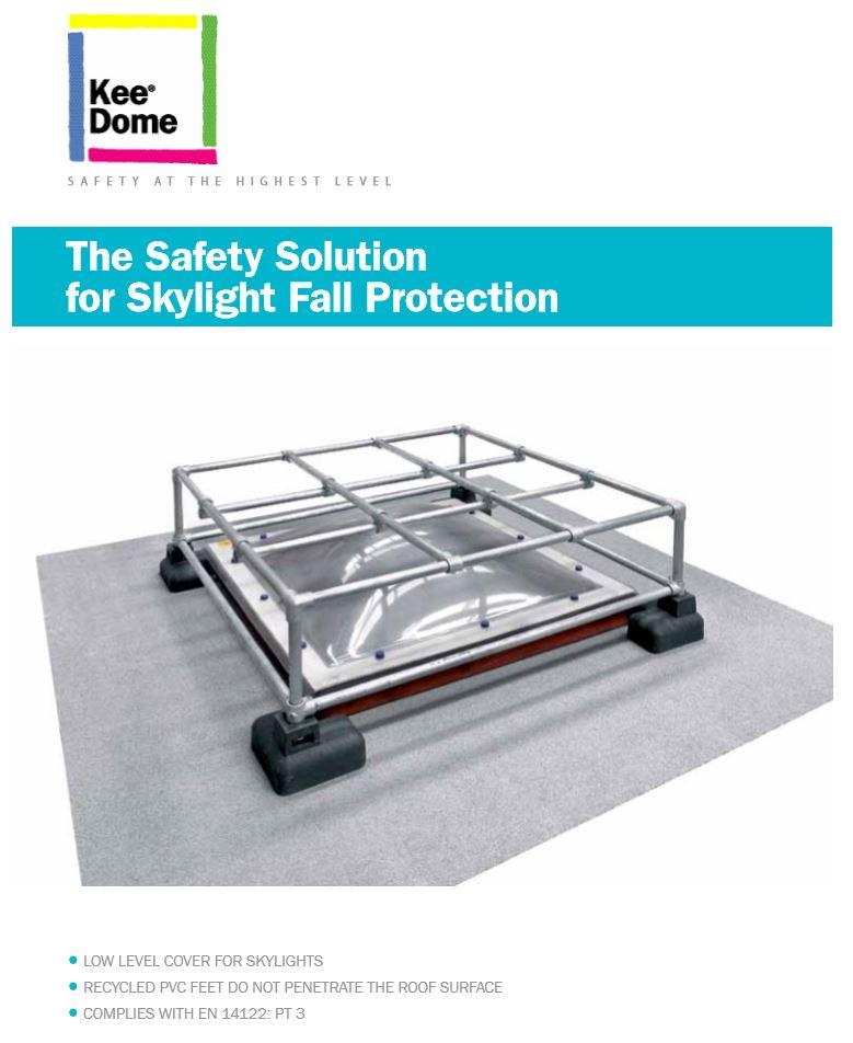 Kee Dome mini brochure cover