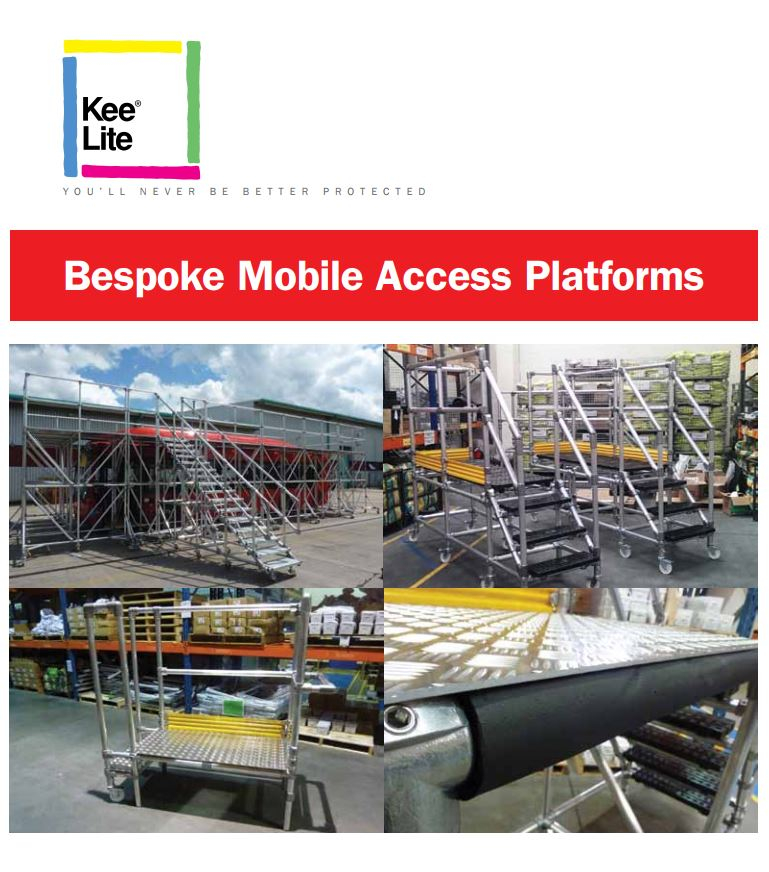 Mobile access platforms brochure cover