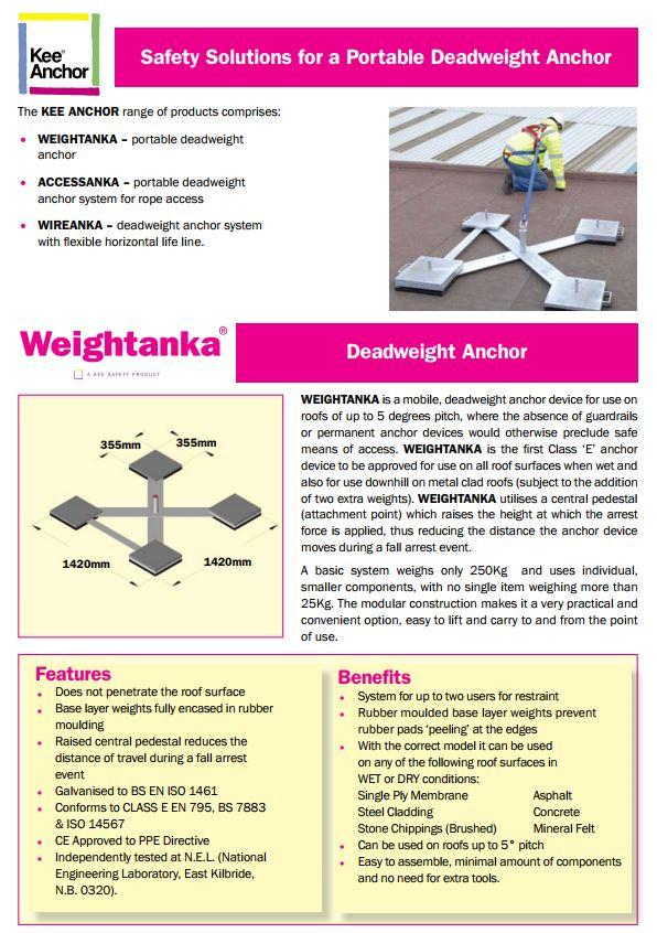 Kee Anchor brochure cover