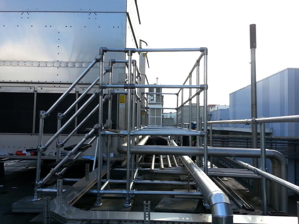 Bespoke plant access platform
