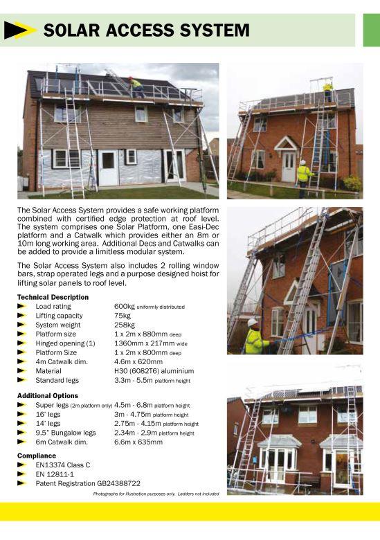 Solar platform 8-10m brochure cover