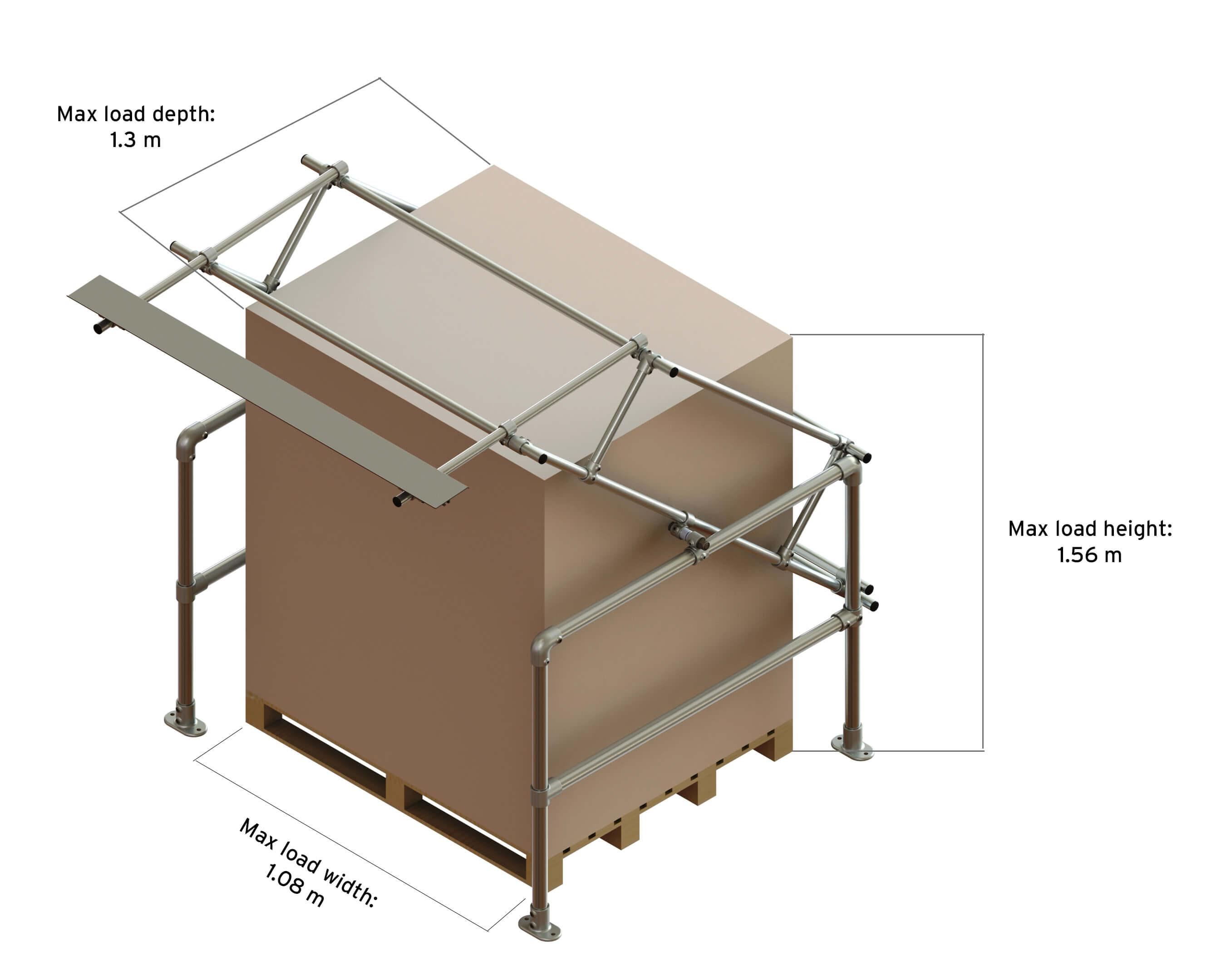 safety pallet gate