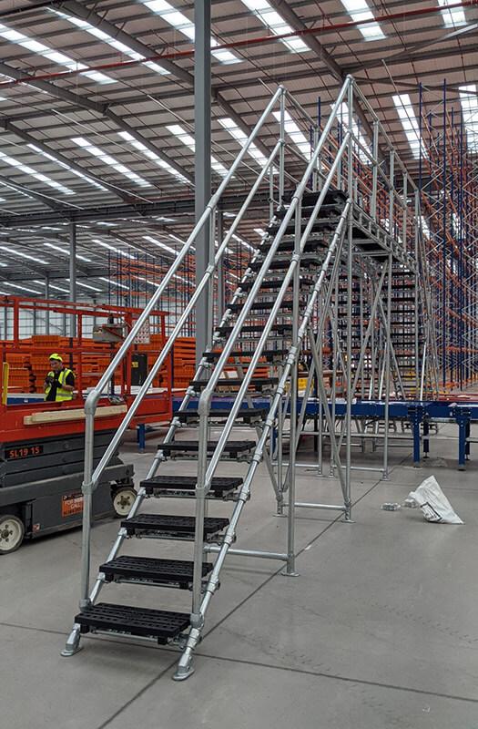 large stepover for conveyor belt