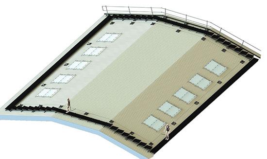fragile roof site survey