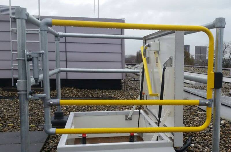safety gates for industrial applications