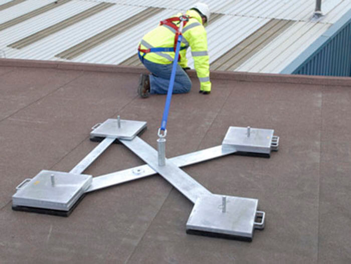 freestanding roof anchor